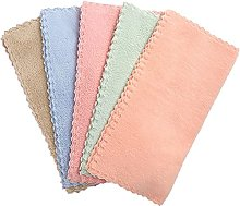5 Pack Micro Fiber Cleaning Towels Soft Kitchen