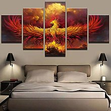5 Paintings On Canvas Abstract Canvas Wall Paint