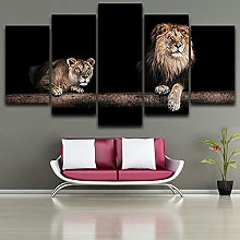 5 Paintings On Canvas Art Poster Art Painting