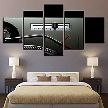 5 Paintings On Canvas Art Wall Canvas Print Poster