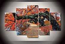 5 Paintings On Canvas Canvas Flower Home