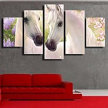 5 Paintings On Canvas Canvas Poster Home