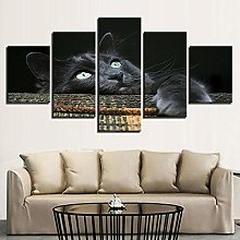 5 Paintings On Canvas Canvas Table Art Wall Canvas