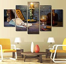 5 Paintings On Canvas Canvas Wall Art Kitchen