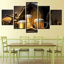 5 Paintings On Canvas Fashion Discount Canvas Art