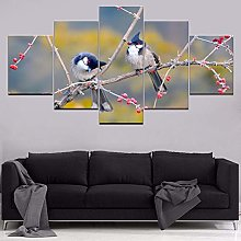 5 Paintings On Canvas Home Decor Canvas Painting