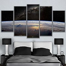 5 Paintings On Canvas Home Decor Poster Room