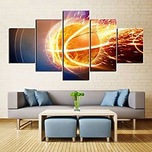 5 Paintings On Canvas Home Decoration Living Room