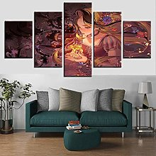5 Paintings On Canvas House Painting Canvas