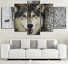 5 Paintings On Canvas Image Of Canvas Print Snow