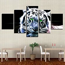 5 Paintings On Canvas Living Room Decoration