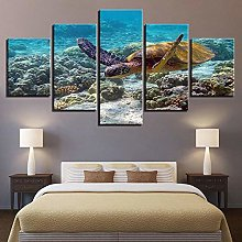 5 Paintings On Canvas Modern Style Canvas Wall Art