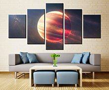 5 Paintings On Canvas Modern Wall Decoration
