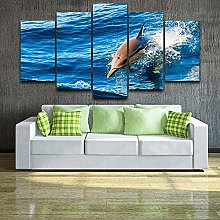 5 Paintings On Canvas Painting Wall Art Photo