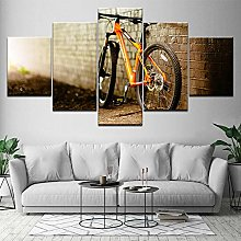 5 Paintings On Canvas Print Wall Canvas Modern Art
