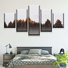 5 Paintings On Canvas Wall Art Poster Home Decor