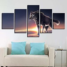 5 Paintings On Canvas Wall Decoration Large Canvas