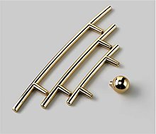 5 pcs Modern Light Luxury Simple Znic Alloy Golden