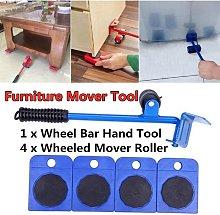 5 Pcs Professional Home Furniture Transport Lifter