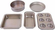 5-Piece Bakeware Set Baking Equipment Non Stick -