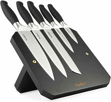 5 Piece Knife Block Set VonShef
