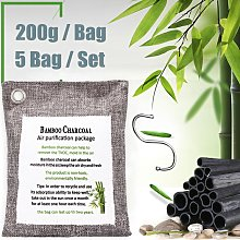 5 Pieces Car Cabinet Interior Bamboo Charcoal Air