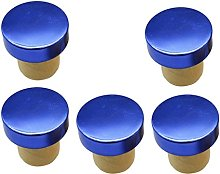 5 Pieces T-Shape Cork Bung Stopper Plugs Sealing