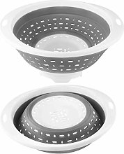 5 Quart Collapsible Colander - Silicone Food