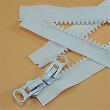5# Resin Double-Headed Open End Zip Clothing