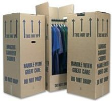 5 Tall Wardrobe Boxes Removal Garment Carriers