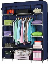5 Tier Clothes Storage Organiser,Foldable Closet