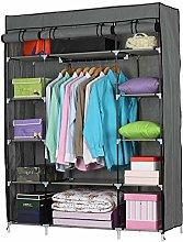 5 Tier Clothes Storage Organiser,Foldable Closet