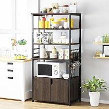 5 Tier Kitchen Storage Trolleys, Microwave Shelf