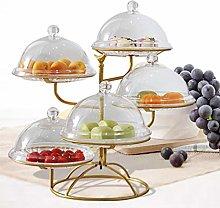 5 Tier Metal Fruit Basket, Black Wire Fruit Rack,