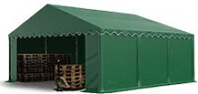 5 x 6 m Heavy Duty PVC Storage Tent with GROUNDBAR