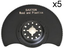 5 x 88mm Saxton Segmented Wood Blades Fein