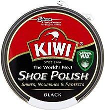 5 X Kiwi Shoe Polish Black (50ml)
