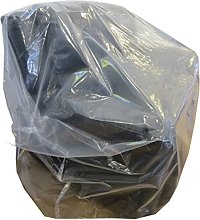 5 x Large Strong Heavy Duty Plastic Polythene 3 or