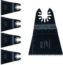 5 x Oscillating HCS 68mm x 40mm Plunge Precision