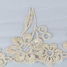 5 Yard Lace Trim Embroidered Fabric Wedding Bridal