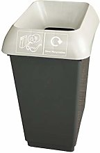 50 Litre Recycling Bin With Light Grey Lid & Other