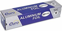 50 Meter Aluminum Silver Foil Wrap ~ Heavy Duty