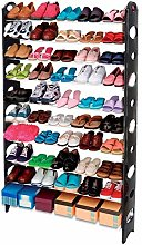 50 Pairs Strong Stackable Shoe Rack Stand