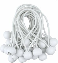 50 x Ball Bungee Canopy Tarp Tie Down Cord for