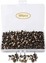 500 PCS Antique Upholstery Tacks with Transparent