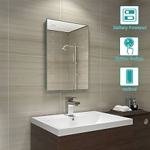 Battery Operated Led Bathroom Mirrors Shop Online And Save Up To 60 Uk Lionshome
