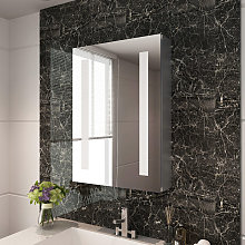 500 x 700mm Illuminated LED Bathroom Mirror