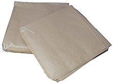 5000 Large Kraft Brown Strung Paper Bags Medium