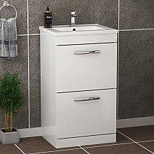 500mm Floor Standing Bathroom Vanity Unit