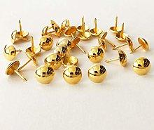 500pcs a lot: D11mmxL14mm Gold Color Sofa